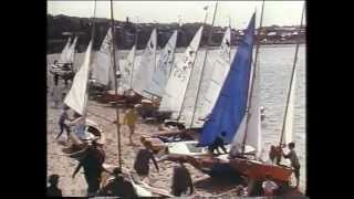 Old film of North Berwick and The Bass Rock